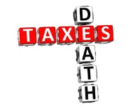 death and back taxes