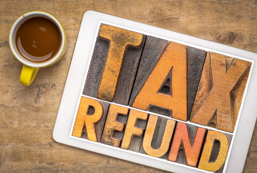 tax refunds less taxes paid